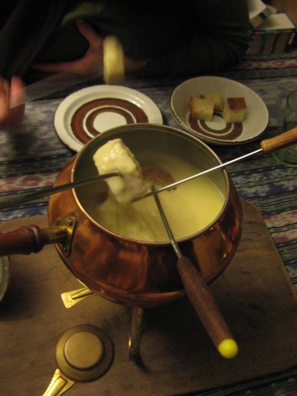 Back to the 70's, fondue fun